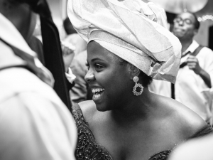 Chicago Wedding Bride Gele