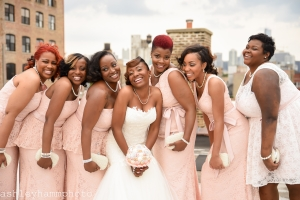 Chicago Wedding Bride and Bridesmaids