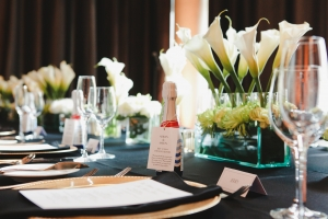 Art Deco Wedding Reception Decor
