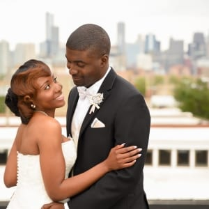 Chicago Wedding Bride and Groom