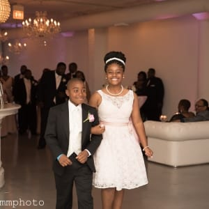 Chicago Wedding Flower Girl and Ring Bearer