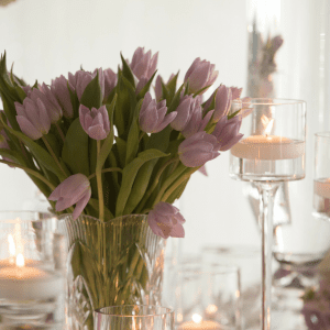 Events by TMA Lavender & Silver Springtime Wedding Floral Design