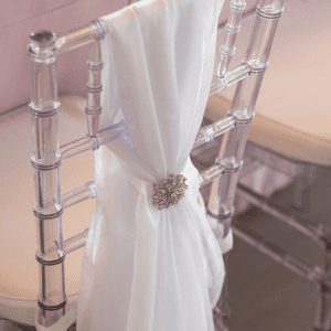 Events by TMA Lavender & Silver Springtime Wedding Chairs