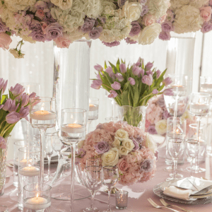 Events by TMA Lavender &  Springtime Wedding Floral Design