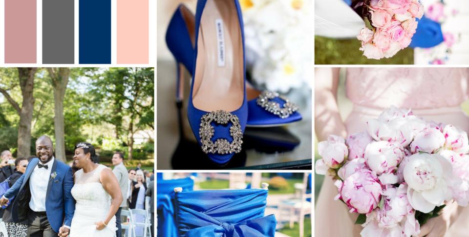 Blue Wedding Design Inspiration