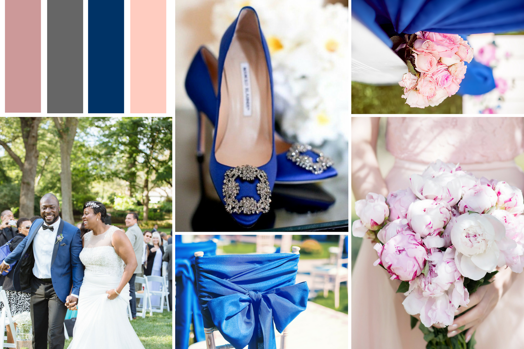 Blue Wedding Design Inspiration