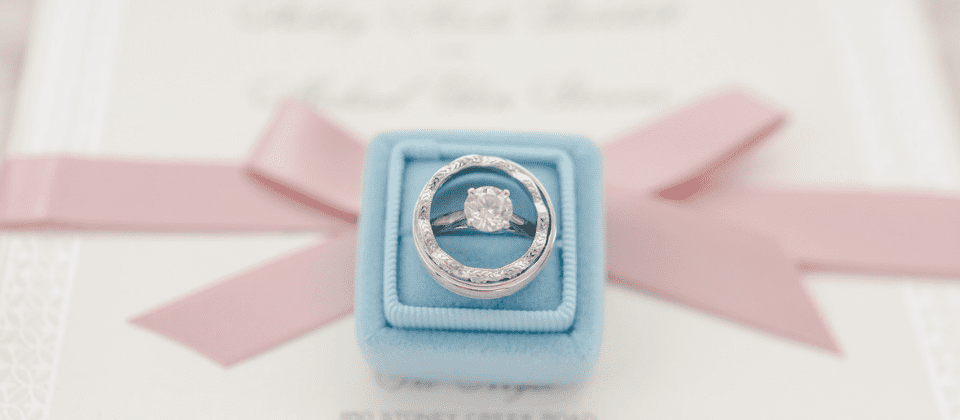 Wedding Ring and Invitations