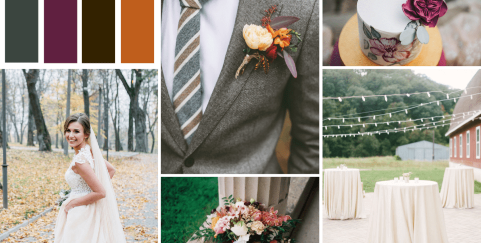 Fall Wedding Design Inspiration