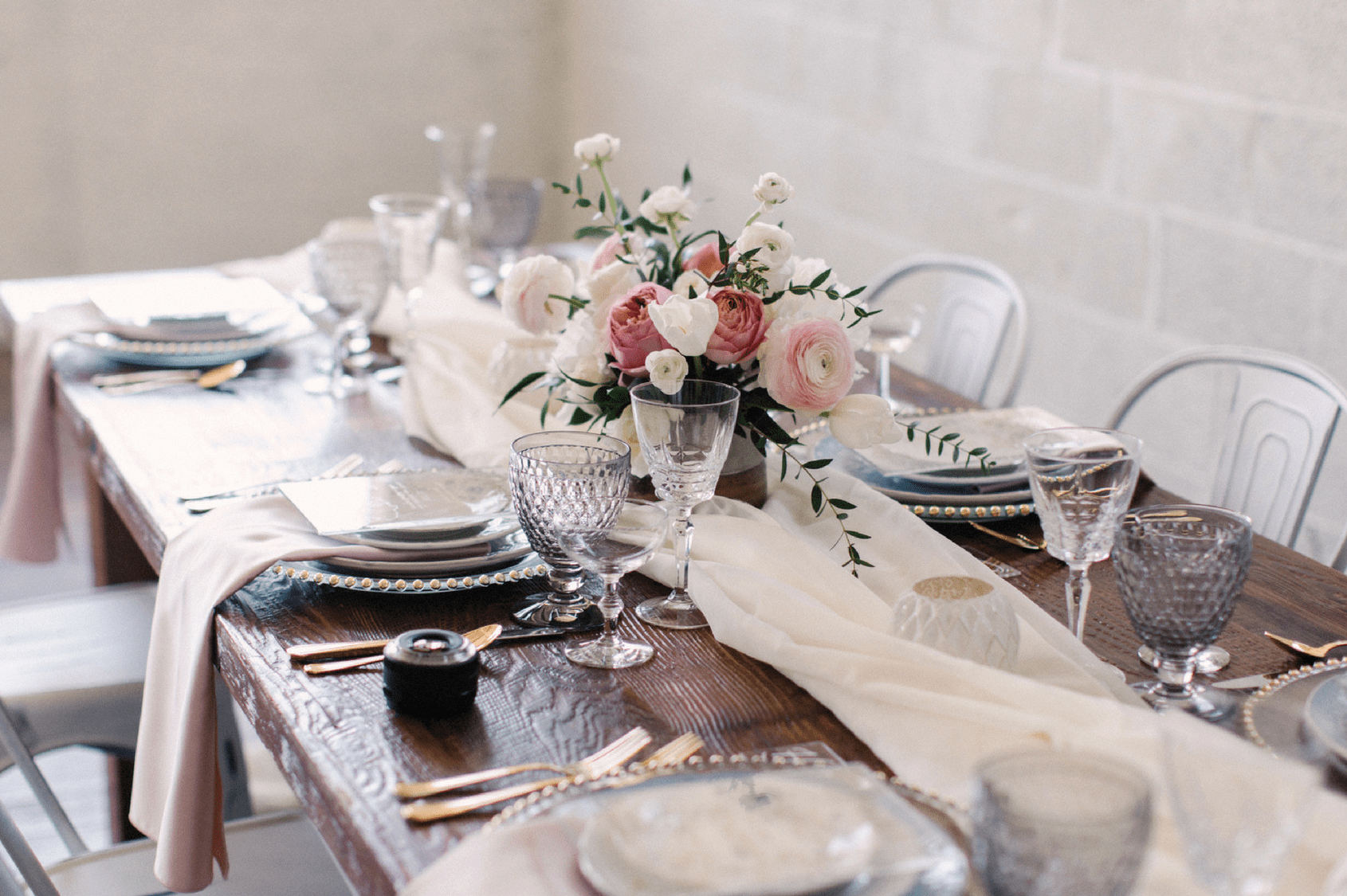 Wedding Table Settings Guide Events by TMA