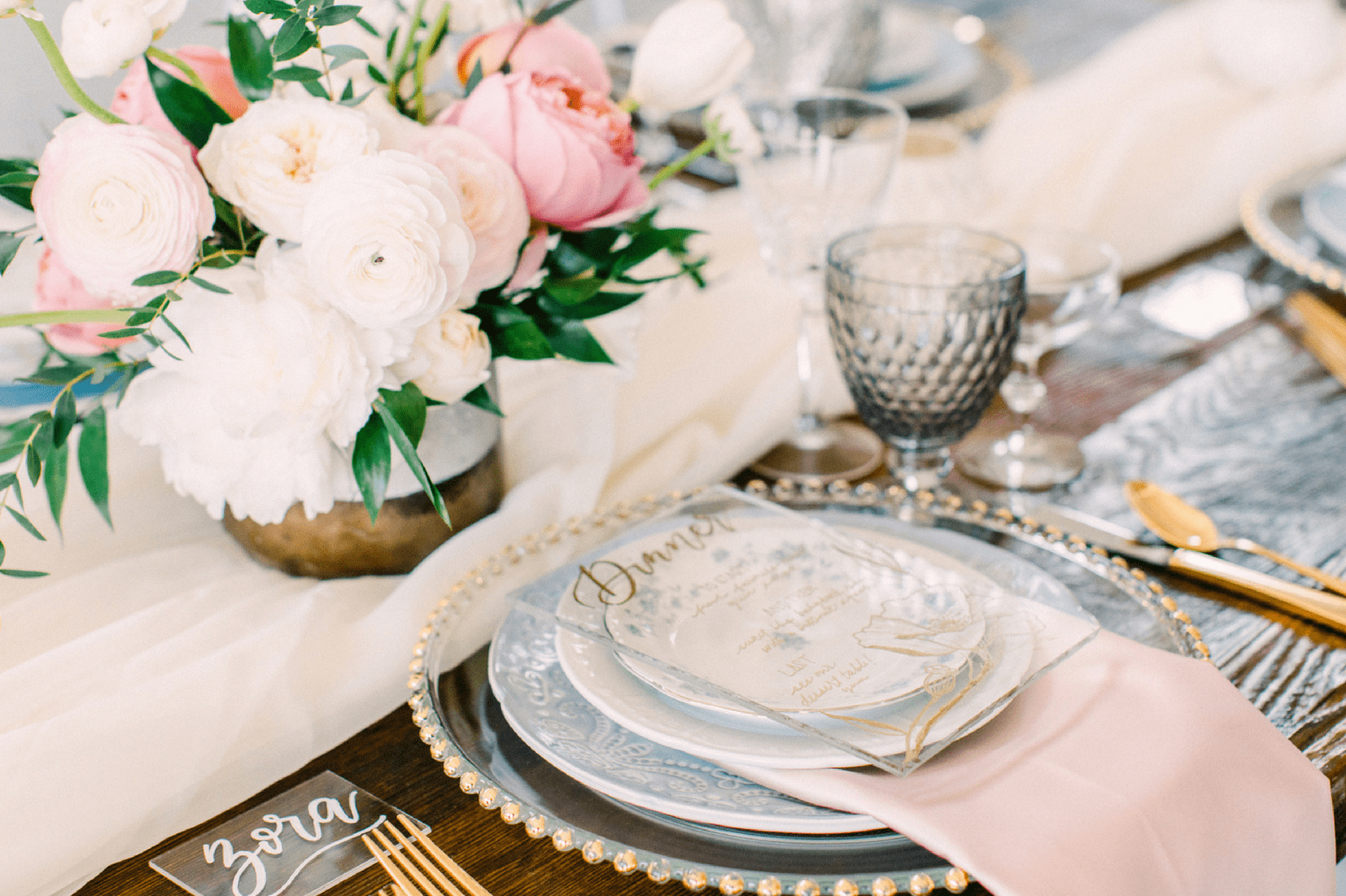 Wedding Table Settings Guide